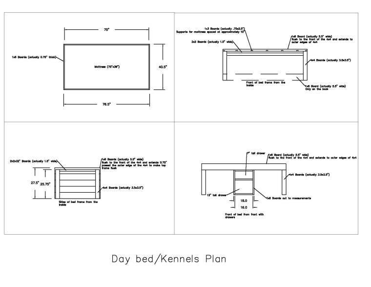 Bed_Kennel Layout