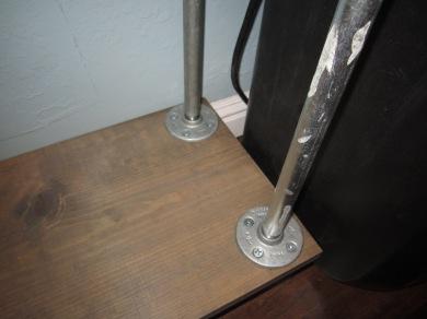 Floor flanges